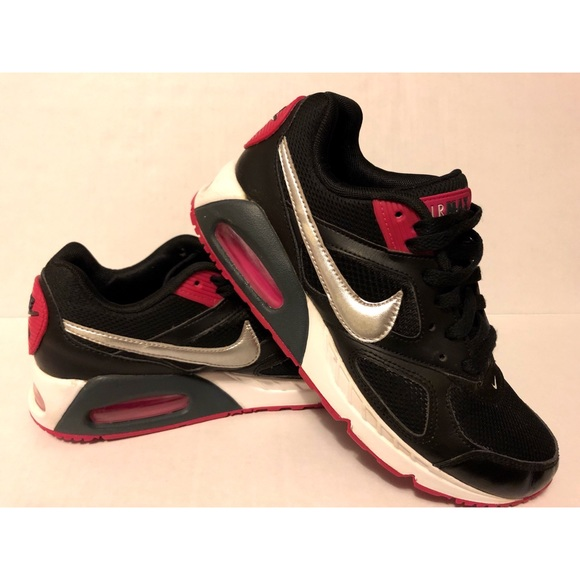 Nike Air Max IVO Pink Black Silver Womens Size 7